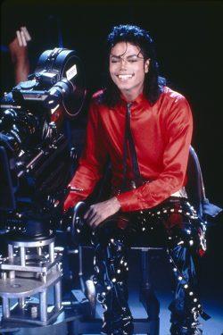 Michael Jackson behind the camera