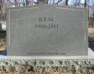 R.E.M. Tombstone