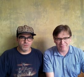 Joe Pernice and Norman Blake of the New Mendicants