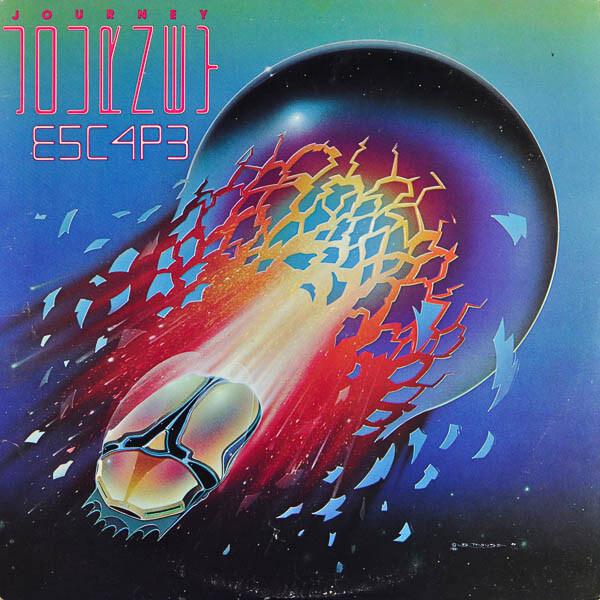 Album cover - Escape by Journey
