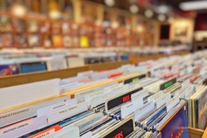 Records in record store