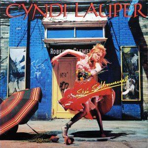 Cyndi Lauper - She's So Unusual album cover